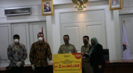 Indosat Serahkan Bantuan Penanganan COVID-19 Rp 5,7 Mke Pemprov DKI