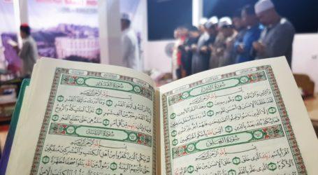 Sambut Lailatul Qadar, Relawan RS Indonesia Gaza Tarawih Berjamaah dan Tadarus Al Quran
