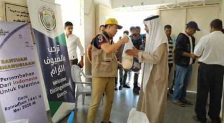 AWG Tebar Bantuan untuk Dhuafa di Kampung Badui Gaza