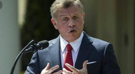 Raja Yordania: Konflik Besar Terjadi Jika Israel Aneksasi Tepi Barat