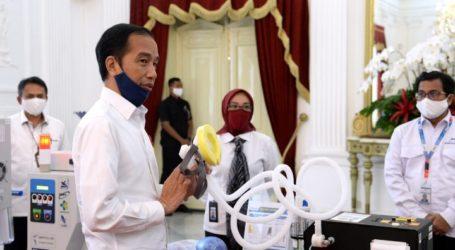 Presiden Luncurkan 55 Produk Alat Kesehatan Karya Anak Bangsa untuk Tangani Covid-19