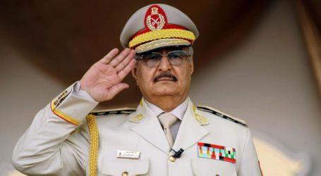 Haftar Umumkan 'Operasi Udara Terbesar' Lawan Pasukan Turki di Libya