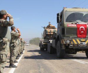 Pasukan Turki menuju Libya. (Foto: AA)