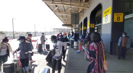 27 WNI Terdampak Lockdown di Afsel Pulang ke Tanah Air