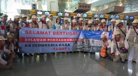 Istri Relawan Pembangunan RS Indonesia di Gaza Wafat