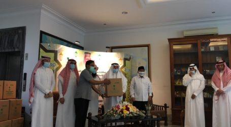 Dubes Saudi Resmikan Program Buka Puasa Pelayan Dua Kota Suci