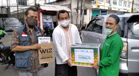 Paket Sembako Untuk Jurnalis Muslim Dikirim ke Rumah Masing-masing