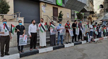 Ratusan Warga Gaza Menentang Aneksasi Israel