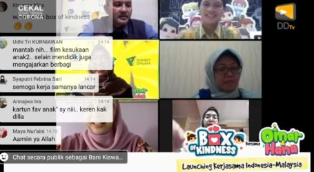 Launching Box of Kindness di Indonesia, Gandeng Dompet Dhuafa
