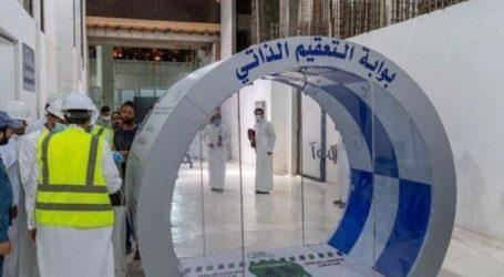 Masjidil Haram Pasang Bilik Sterilisasi di Gerbang Utama