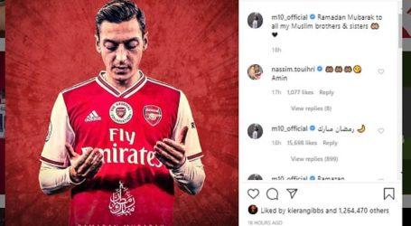 Mesut Ozil Sedekah Rp1,4 M ke Badan Amal Turki