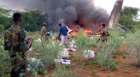 Pesawat Bawa Pasokan Medis Jatuh di Somalia, 6 tewas