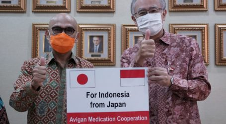 RI Terima Bantuan 12.200 Tablet Avigan dari Jepang untuk Penanganan Covid-19
