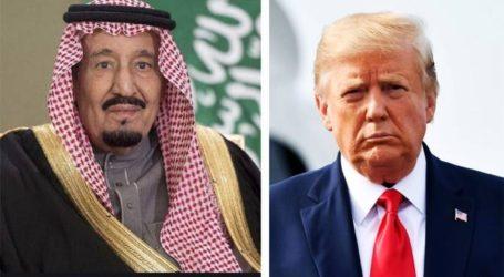 Salman-Trump Tegaskan Kembali Hubungan Kuat Saudi-AS