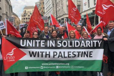 Serikat Buruh Inggris dan Irlandia Dukung Rakyat Palestina