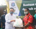 Pemprov. dan Baznas DKI Salurkan 200 Paket Sembako Kepada Mahasiswa Asal Papua di Jakarta