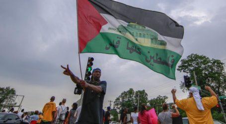 Gerakan Black Lives Matter Inggris Serukan Keadilan Bagi Palestina