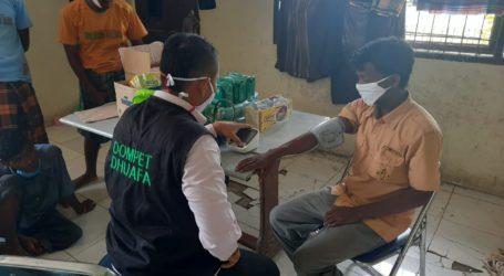 DD Aceh Terjunkan Tim Kesehatan Bantu Pengungsi Rohingya