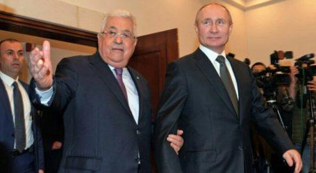 Palestina Hanya Pilih Rusia Jadi Mediator Pembicaraan dengan Israel
