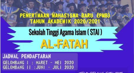 STAI Al-Fatah Buka Pendaftaran Mahasiswa Baru