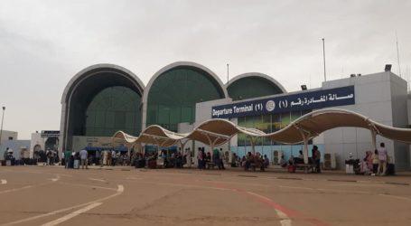 Penutupan Bandara Khartoum Diperpanjang hingga 12 Juli