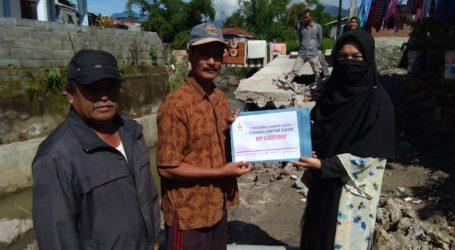 Cahaya Aceh Salurkan Donasi Gayo