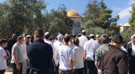 Puluhan Pemukim Yahudi kembali Serbu Al-Aqsa