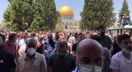 Pertama Dibuka, 50.000 Jamaah Shalat Jumat di Al-Aqsa