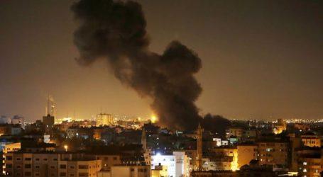 Israel Serang Gaza Targetkan Kelompok Perlawanan