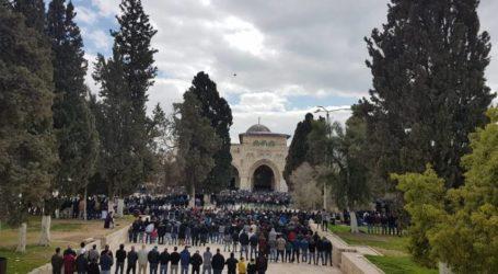 50 Ribu Warga Shalat Jumat di Masjid Al-Aqsa
