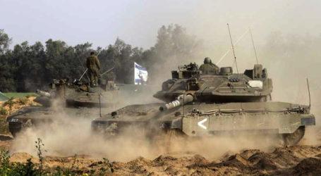 Militer Israel Buldozer Lahan-Lahan Pertanian di Selatan Jalur Gaza