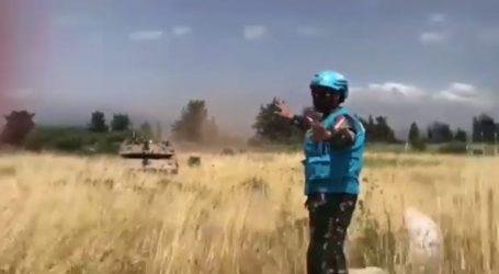 Prajurit TNI Berhasil Hadang Tank Israel di Perbatasan Lebanon