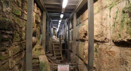 Yahudi Ekstremis Gali Terowongan Baru di Bawah Tembok Al-Buraq