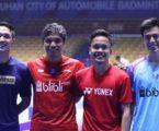 PBSI Home Tournament: Hasil Undian Sektor Tunggal Putra