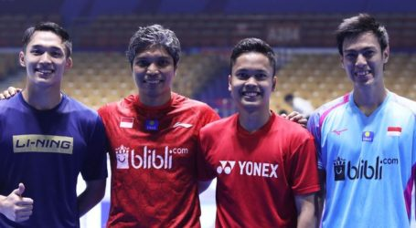 PBSI Home Tournament: Hasil Undian Sektor Tunggal Putra