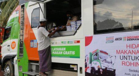 ACT Layani Kebutuhan Makan Pengungsi Rohingya di Aceh