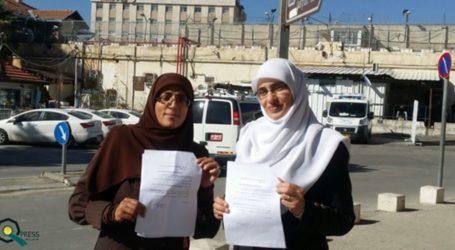 Polisi Intelijen Israel Interogasi Dua Aktifis Muslimah Al-Aqsa