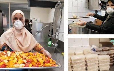 Muslimah Melbourne Bagikan Makanan Gratis Tiap Jumat  Selama Pandemi