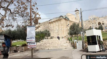 Ekstrimis Yahudi Buka Kafe di Masjid Ibrahimi