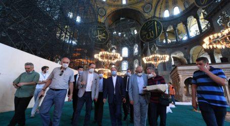 Hagia Sophia Siap untuk Shalat Jumat Perdana