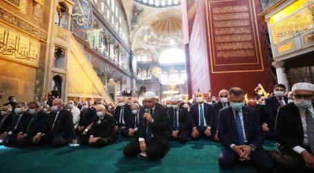 Erdogan Lantunkan Surat Al-Fatihah dan Al-Baqarah 1-5