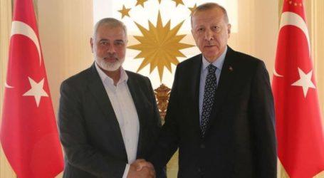 Haniyeh Ucapkan Selamat Kepada Erdogan Atas Pembukaan Masjid Hagia Sophia