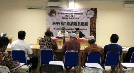 BMT Amanah Syariah Gelar Rapat Anggota Tahunan ke-1