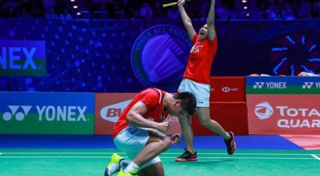 PBSI Home Tournament: Hasil-Hasil Babak Perempat Final Ganda Campuran