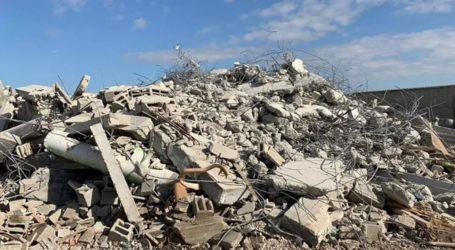 Israel Gusur Rumah Keluarga Palestina di Al-Khalil