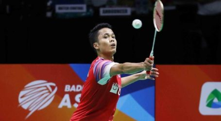 PBSI Home Tournament: Hasil Perempat Final Tunggal Putra