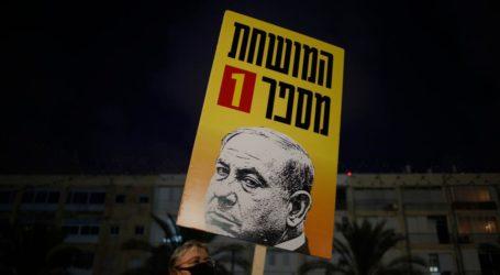 """Dianggap Gagal Atasi Ekonomi, Poster Netanyahu Ditulis """"Orang Korup No.1"""""""