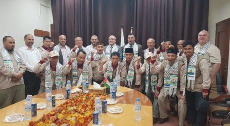 Menkes Gaza Lepas Kepulangan Sembilan Relawan RS Indonesia