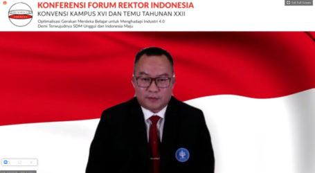 Rektor IPB University Resmi Dikukuhkan Sebagai Ketua Forum Rektor Indonesia 2020