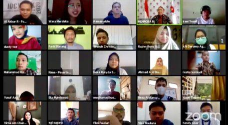 Menpora Apresiasi Indonesia Digital Content Week 2020